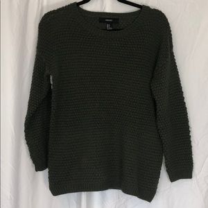 Hunter Green Comfy Knit Sweater